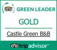 Tripadvisor Green Leader Gold award