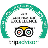 Tripadvisor Certificate of Excellence 2017 for Castle Green Bed and Breakfast