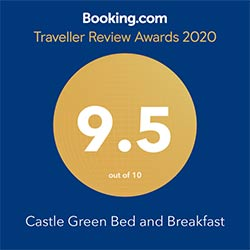 Booking.com traveller awards 2020 logo