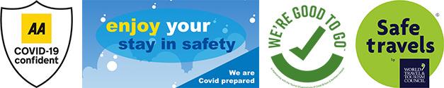 COVID-19 ready logos 2021