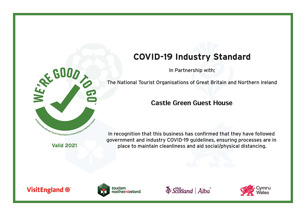 Castle-Green were good to go 2021 certificate